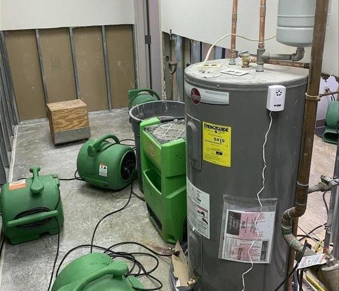 Water heater and equipment