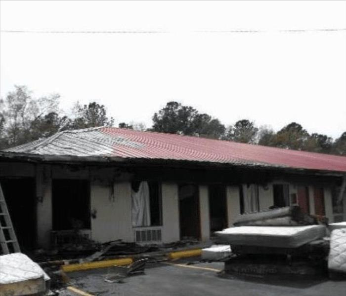 Fire at a Motel